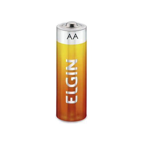 Pilha de Zinco AA Carvão R06 (Blister com 4) - ELGIN