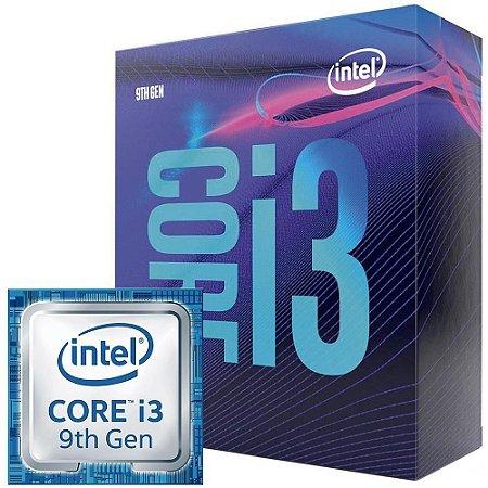 Processador Intel Core I3-9100F Coffee Lake, Cache 6MB, 3.6GHZ (4.2GHZ Max Turbo), LGA 1151, Sem Vídeo BX80684I39100F Bo