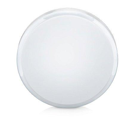 Luminária Led Multifit redonda de 15W 6500K bivolt com difusor leitoso / 2 opções de base - Elgin
