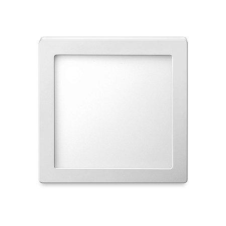 Luminária sobrepor quadrado 24W 6500K - ELGIN