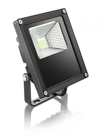 Refletor Power Led 10W Preto sem sensor bivolt - ELGIN