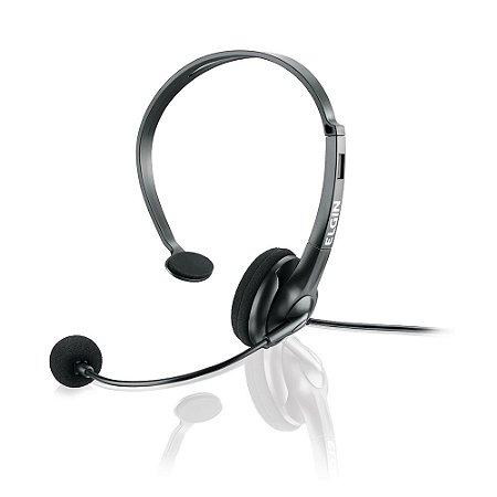 Headphone Mono Flex sem volume conector RJ F021NSRJ - ELGIN