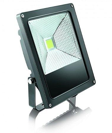 Refletor Power Led 30W Preto Sem Sensor Bivolt - Elgin