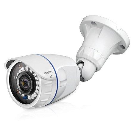Câmera 4 em 1 T2 Bullet 720P 25 mts, lente 3.6mm, branco - ELGIN