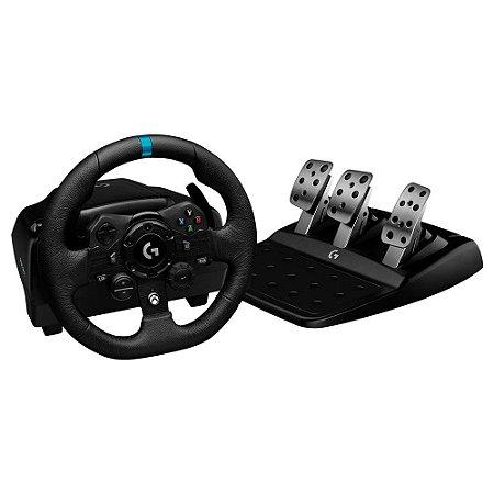 Volante Logitech G923 - Xbox Series X Xbox One PC com Force Feedback Trueforce - 941-000157 - Logitech