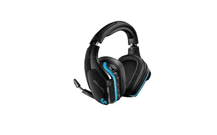 Headset Gamer Logitech G935, Sem Fio, RGB, Som Surround 7.1, Drivers Pro-G de 50mm - Logitech