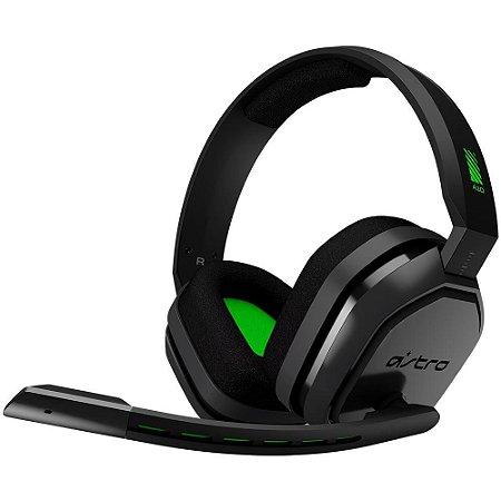 Headset Gamer Logitech Astro A10 Para Xbox One Preto - Logitech