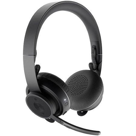 Headset Sem Fio Logitech Zone Estéreo Bluetooth 981-000797 - Logitech
