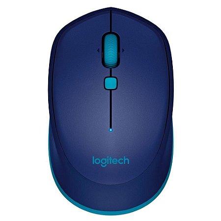 Mouse Logitech Bluetooth M535 1000DPI Azul - Logitech