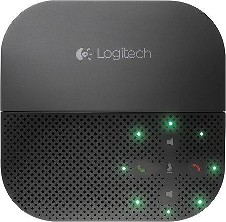 Caixa de Som Speakerphone Portátil P710E Viva-Voz Bluetooth NFC - Logitech
