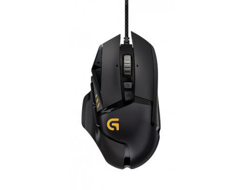 Mouse Gamer G502 USB 12000 DPI preto - Logitech