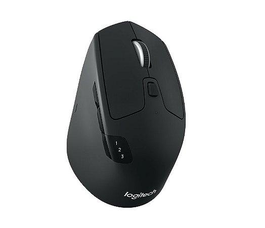 Mouse Wireless Logitech M720 Triathlon Bluetooth Flow Unifying - Logitech