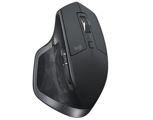 Mouse Wireless Recarregável Logitech MX Master 2S Flow Unifying 4000DPI Preto - Logitech