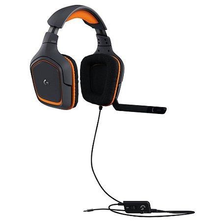 Headset Gamer Logitech G231 Prodigy Multiplataforma PC, PS4, Xbox One, Nintendo Switch, Mobile - Logitech