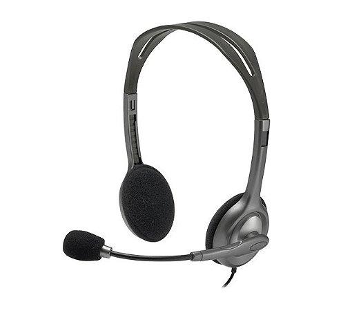 Headset PC Logitech H111 Estéreo P2 - Logitech