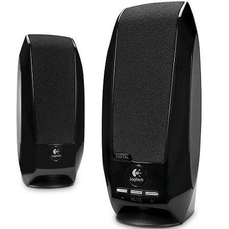 Caixa de Som para PC Logitech S150 Digital 2.0 USB - Logitech