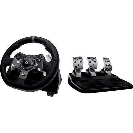 Volante Logitech Driving Force G920 para Xbox One/PC - Logitech