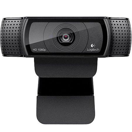 Webcam Logitech C920 HD Pro Full HD Widescreen 1080p - Logitech
