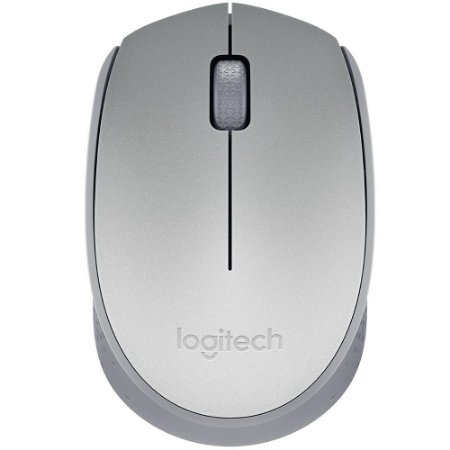 Mouse Wireless Logitech M170 Óptico Prata (Blister) - Logitech