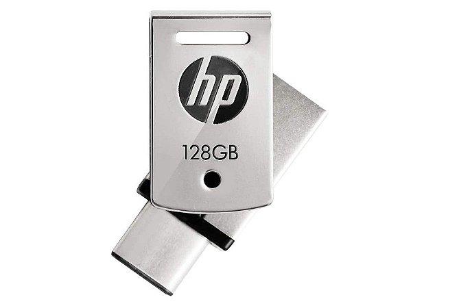 Pen Drive 128Gb USB Tipo C X5000M - HP