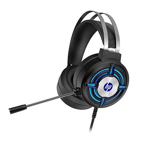 Headset com Microfone Gamer Stereo 2 P2 e Usb Led HP H120 - HP
