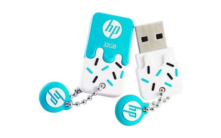 Pen drive  32Gb HP V178  USB  Blue - HP