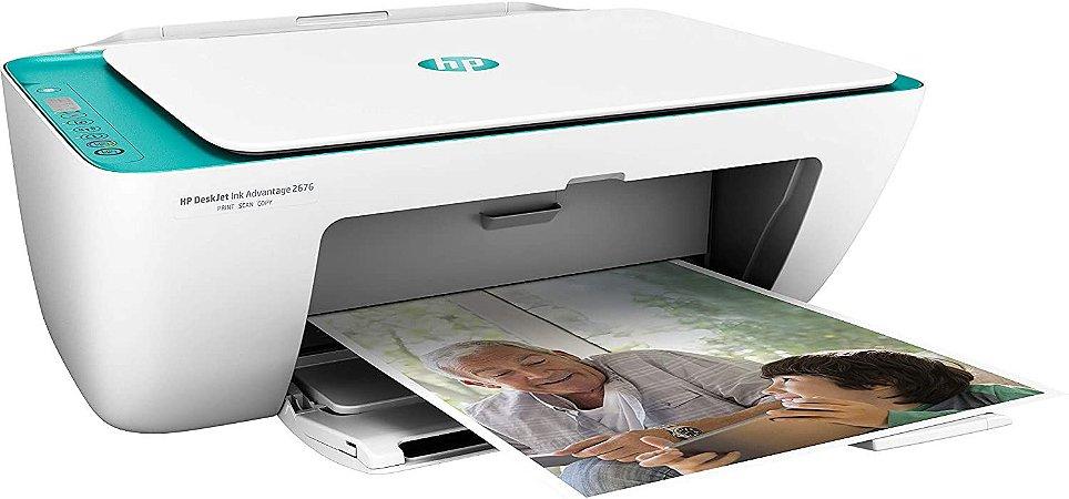 Multifuncional Hp Deskjet Color Ink Advantage 2676 Wifi Y5Z00A#AC4 - HP