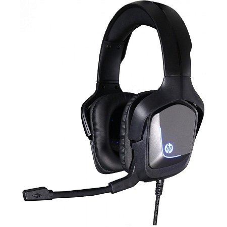 Headset Gamer USB HP H220GS, Surround 7.1, Led Blue - HP