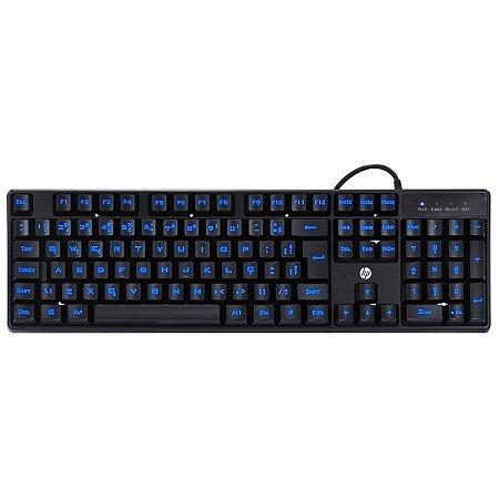 Teclado Gamer HP K300 Black ABNT2 - HP