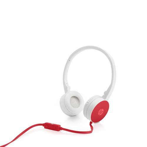 Fone com Microfone Dobrável H2800 Cardinal Red - HP