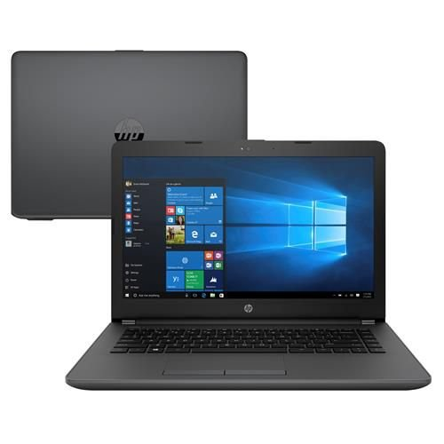 "Notebook HP CM 246 G6 i3 7020U 4gb HD 500gb Tela LCD 14"" Windows 10 Single Language - HP"