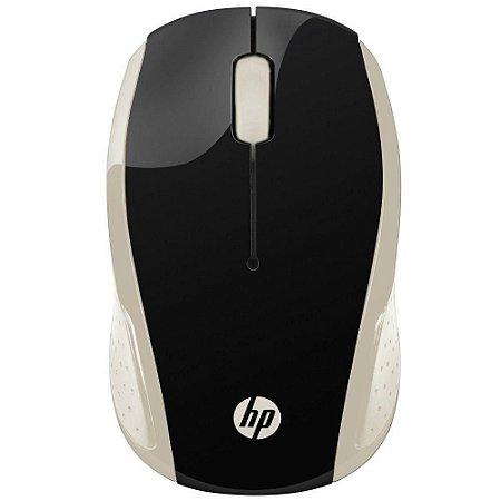 Mouse sem Fio X200 OMAN Dourado - HP