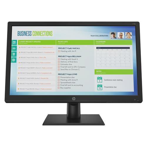 "Monitor HP V19B 18.5"" LED HD Widescreen-  HP"