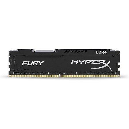 Memória Ram 16gb DDR4 2666mhz HyperX Fury Black HX426C16FB16 - Hyperx