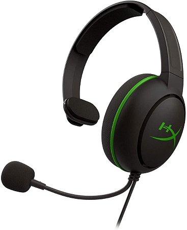 Headset HyperX CloudX Chat Xbox, Drivers 40mm, Preto HX-HSCCHX-BK/WW - HyperX