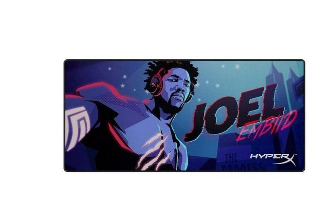 Mouse Pad HyperX, Joel Embiid Limited Edition, Fury S, Speed, Extra Grande - HyperX