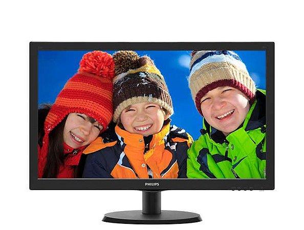 """Monitor Philips 21,5"""" LED Full HD 223v5lhsb2 - Philips"""