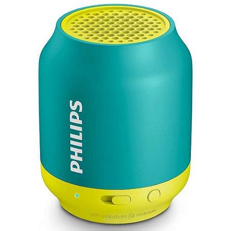 Caixa de Som Portátil Bluetooth Wireless BT50A Verde - Philips