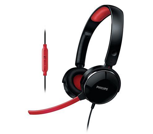 Fone com Microfone SHG7210/10 Preto - Philips