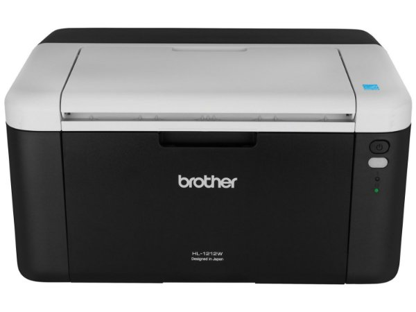 Impressora Brother Laser Mono HL-1212W Preta 21PPM - Brother