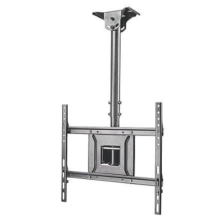 Suporte de Teto Giratório, Inclinação e Ajuste de Altura até 126cm para TVs de 32'' a 75'' - A05V6 - ELG