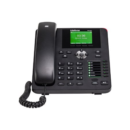 Telefone IP Giga Voip Com Display Colorido TIP-435G - Intelbras