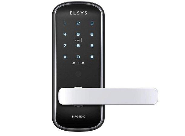 Fechadura Digital  Elsys de Embutir ESF-DE3000 - Elsys