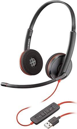 Headset Blackwire C3220 USB-A 209745-101-GO - Plantronics