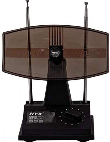 Antena Digital Hyx UVFI102, HDTV/UHF/VHF/FM Interna, Preta - Hyx