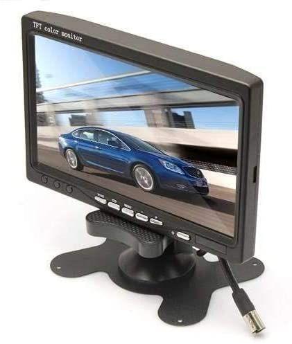 Kit Cftv Monitor 7 Lcd 2 Entradas Vídeo Segurança Câmera - Power Tech