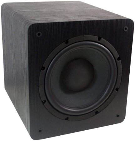 """Subwoofer Ativo Para Home Theater Wave Sound WSW10 200watts Rms 10"""" - Wave Sound"""