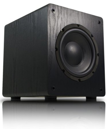 """Subwoofer Ativo Para Home Theater Wave Sound WSW8 175watts RMS 8"""" - Wave Sound"""