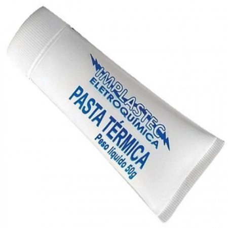 Pasta Térmica 50g Bisnaga - Implastec