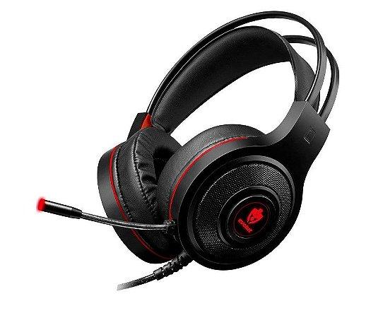 Headset Gamer Evolut Têmis EG-301RD Vermelho - Evolut
